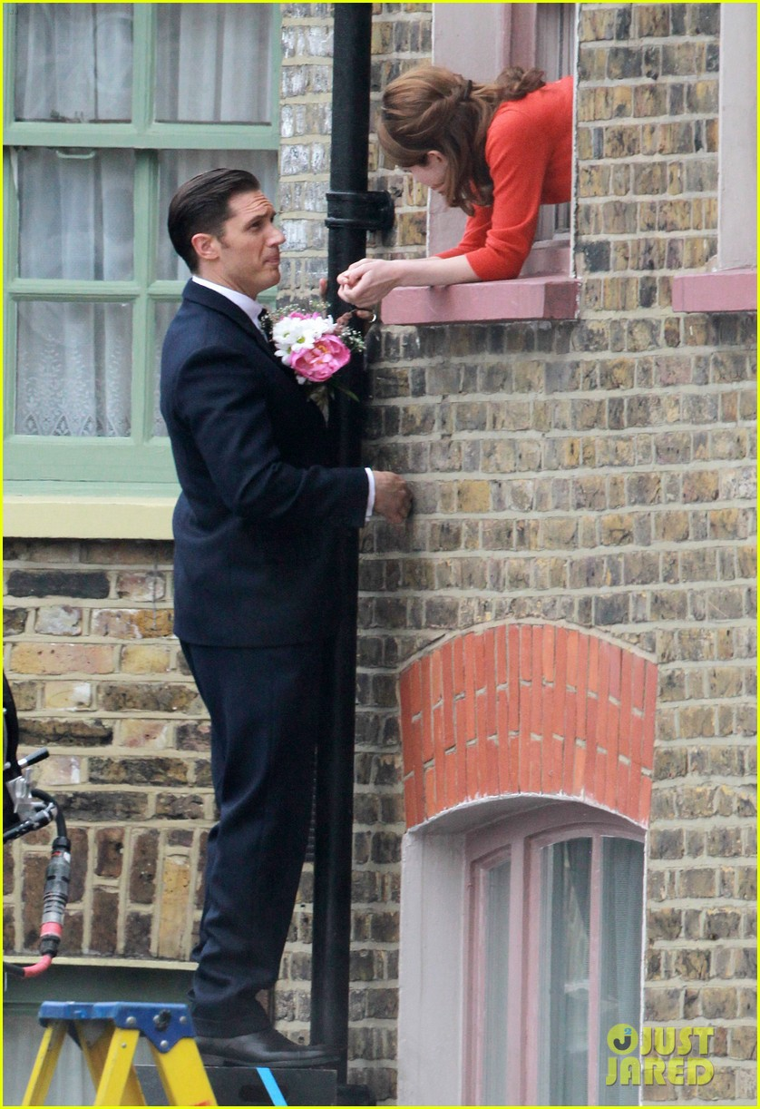 tom hardy shimmies up a drainpipe to woo emily browning 07