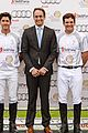 prince harry prince william play in the audi polo challenge 03