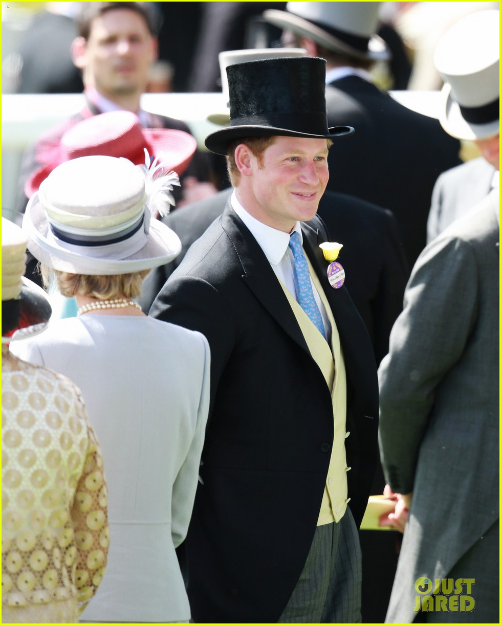 prince harry looks top notch top hat 27