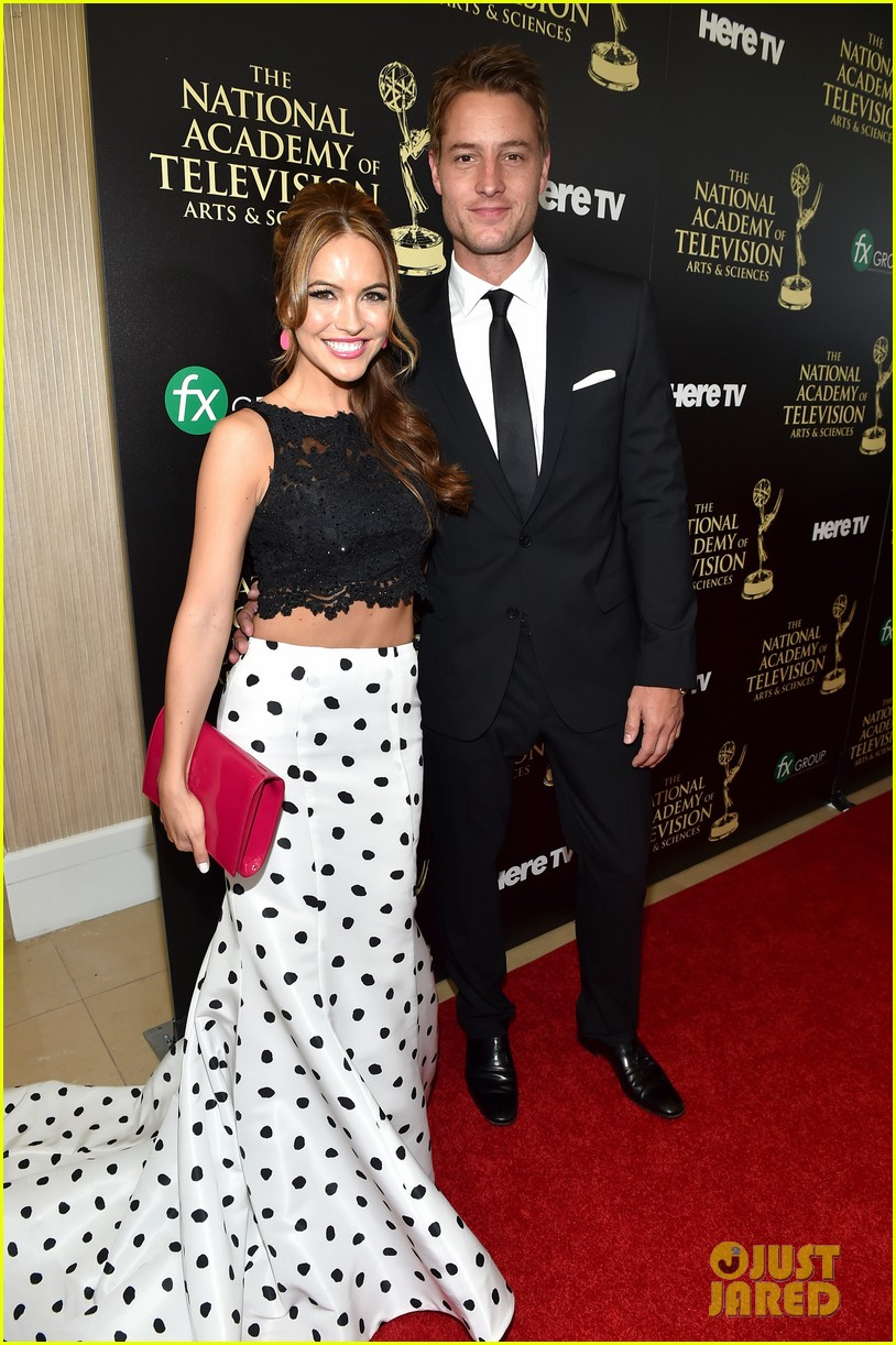 justin hartley chrishell strause daytime emmy awards 2014 05