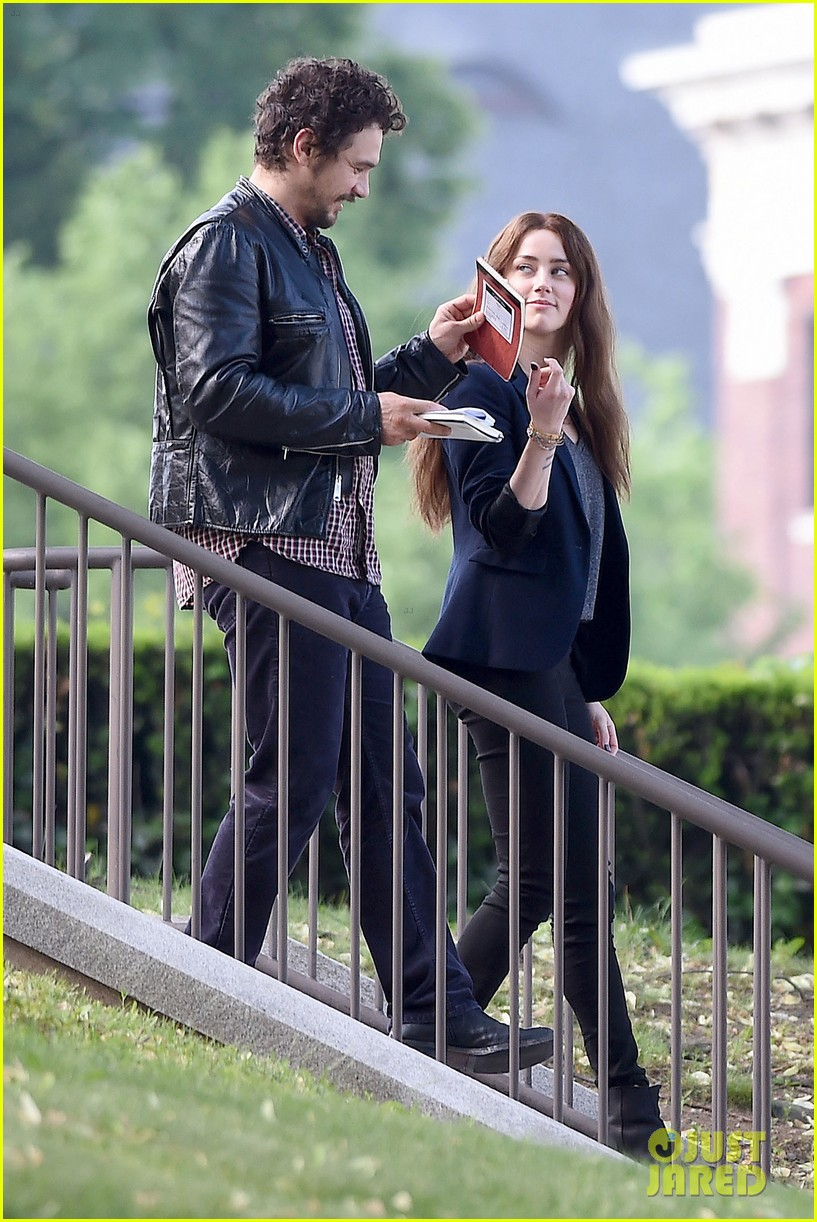 james franco wraps his arms around amber heard for motorcycle ride 143128104