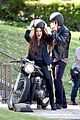 james franco wraps his arms around amber heard for motorcycle ride 11