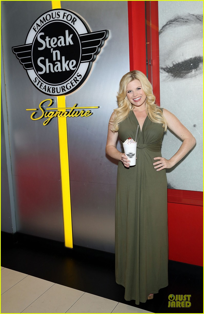 megan hilty steak n shake anniversary 053130546