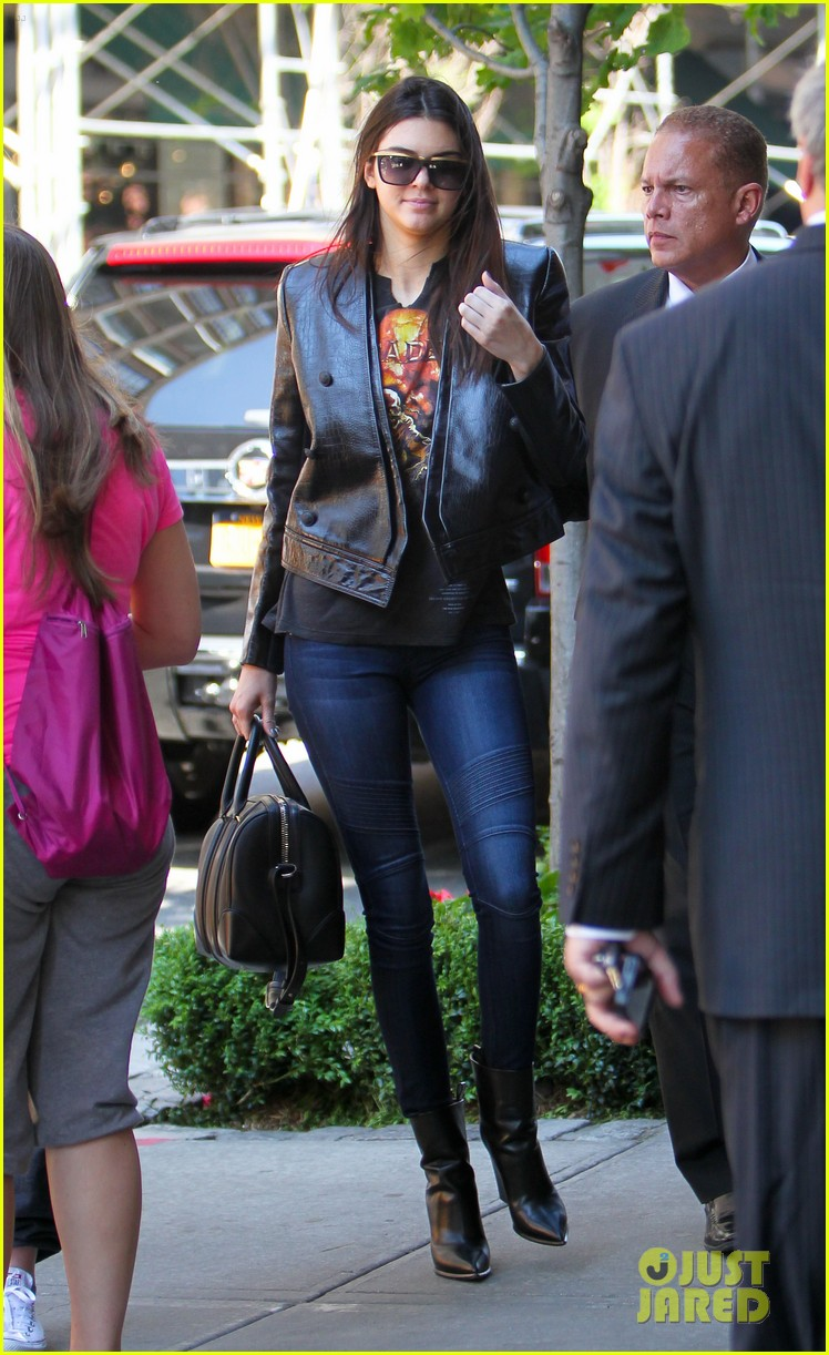 kendall kylie jenner hotel arrival exit nyc 063126694