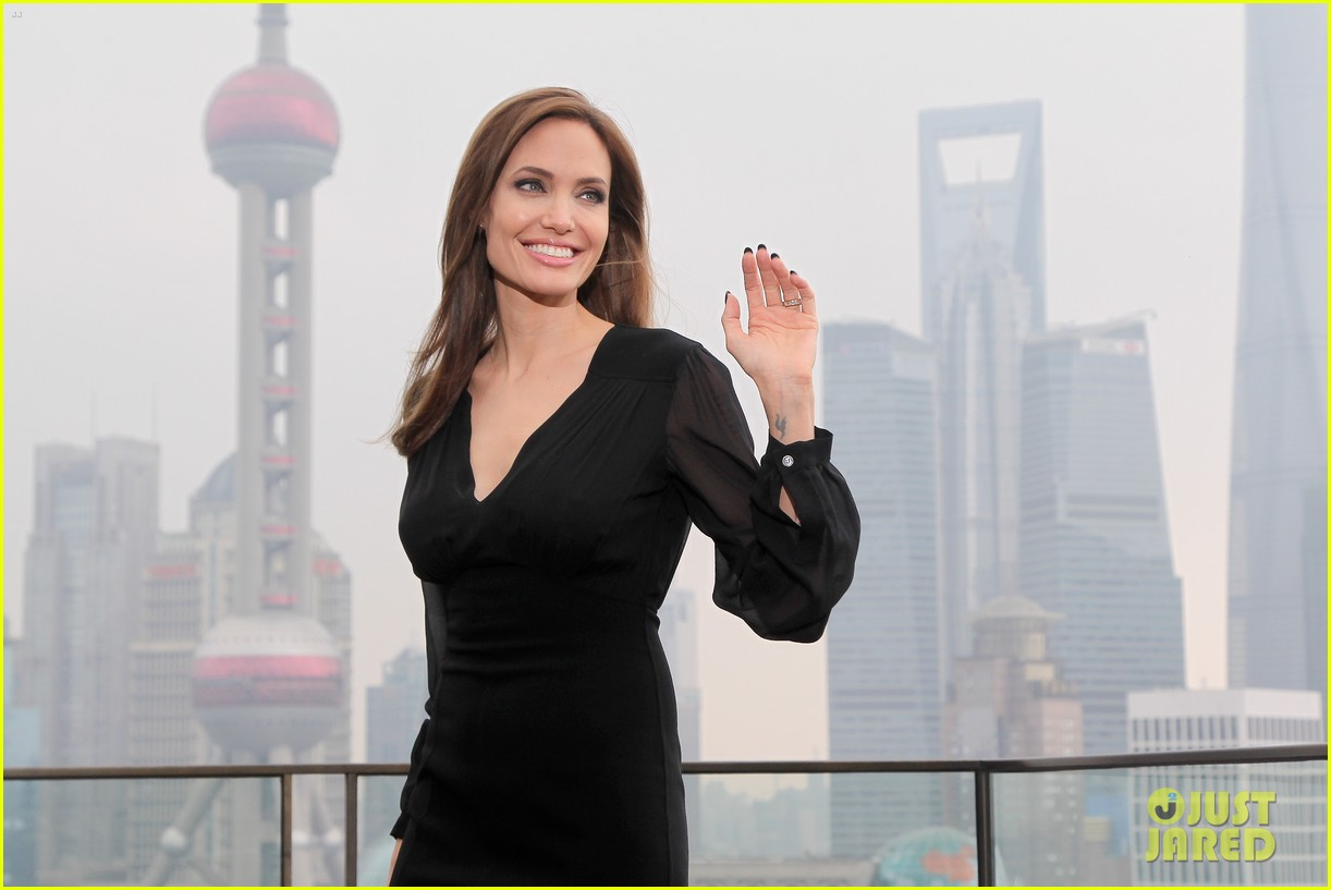 angelina jolie brings maleficent to china 19