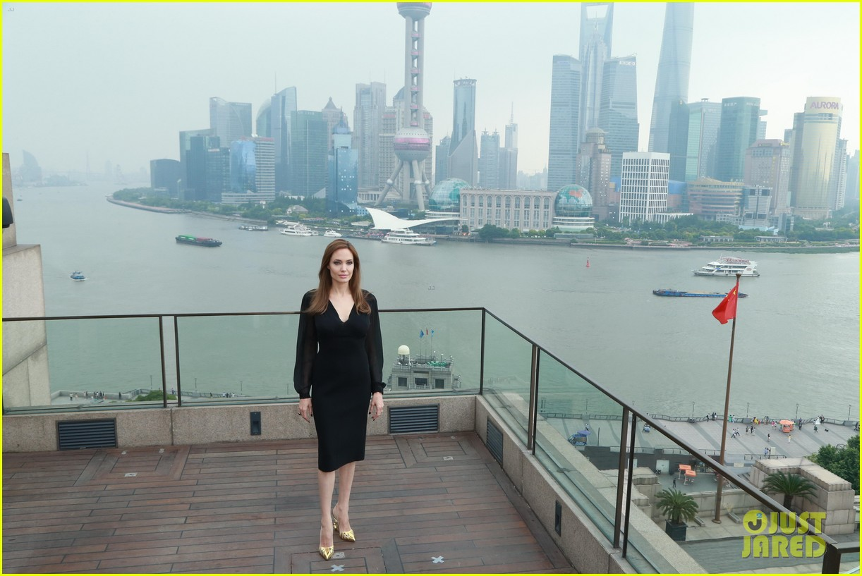 angelina jolie brings maleficent to china 36