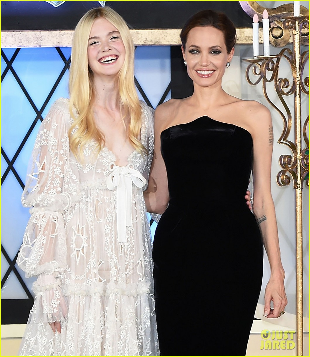 angelina jolie elle fanning hit japan in style for maleficent 023141836