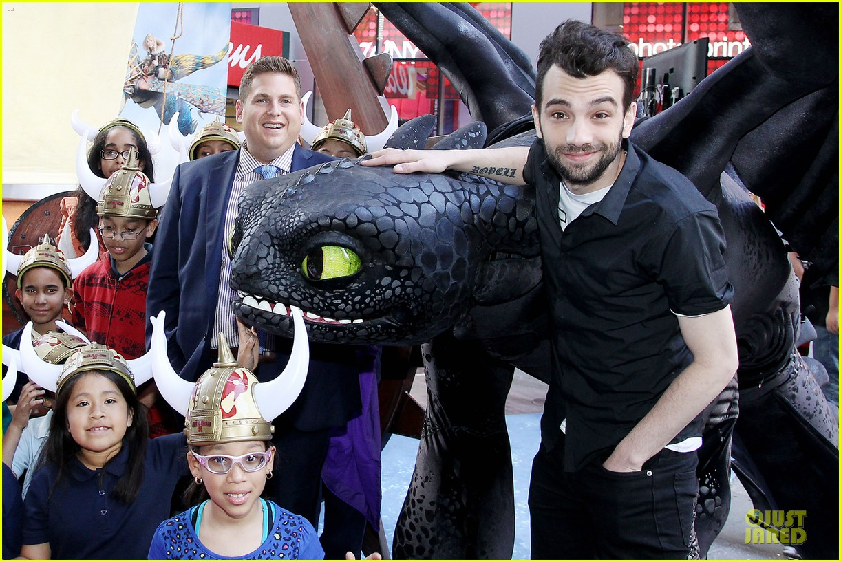 jonah hill jay baruchel kids for how to train your dragon 04