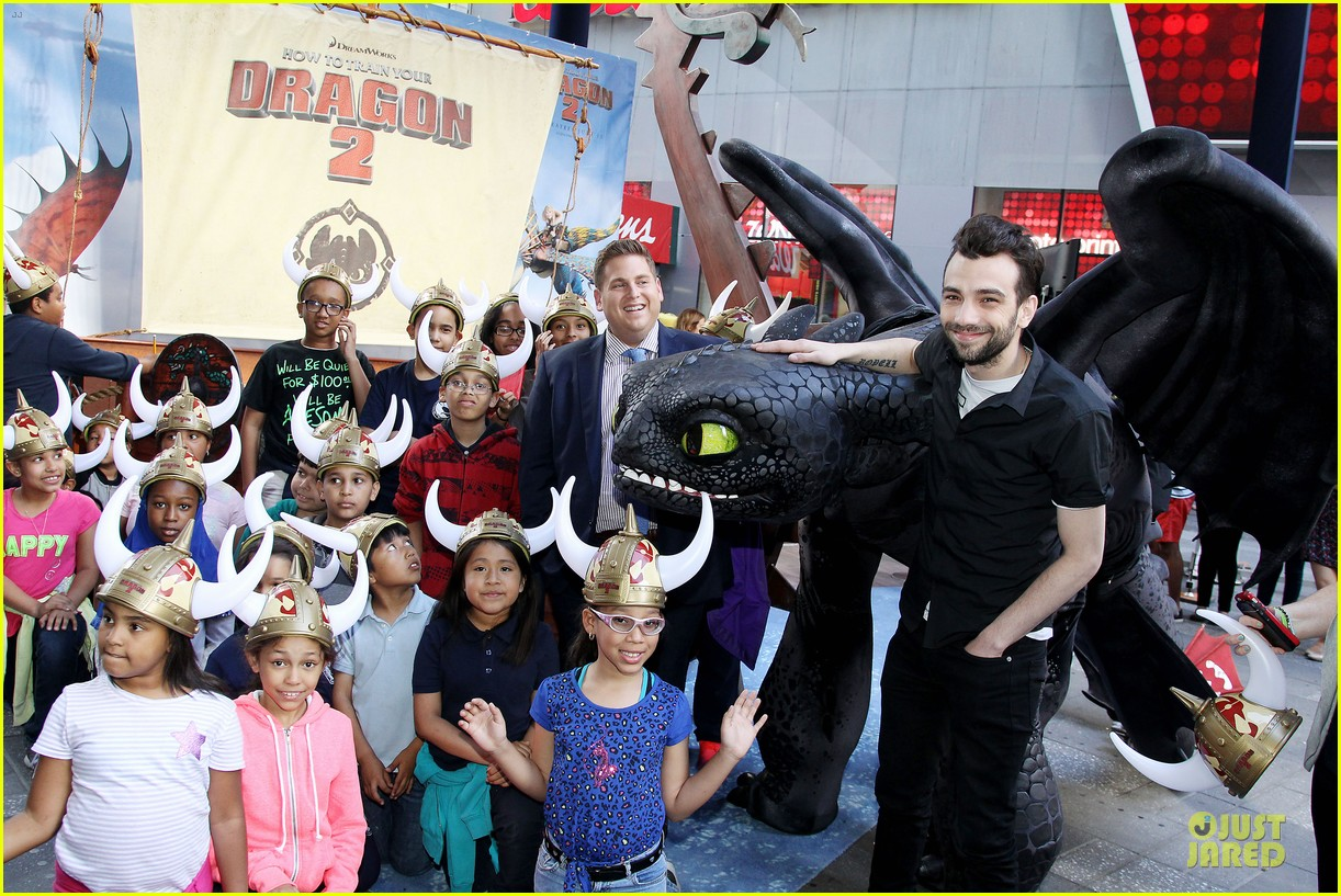 jonah hill jay baruchel kids for how to train your dragon 073130509