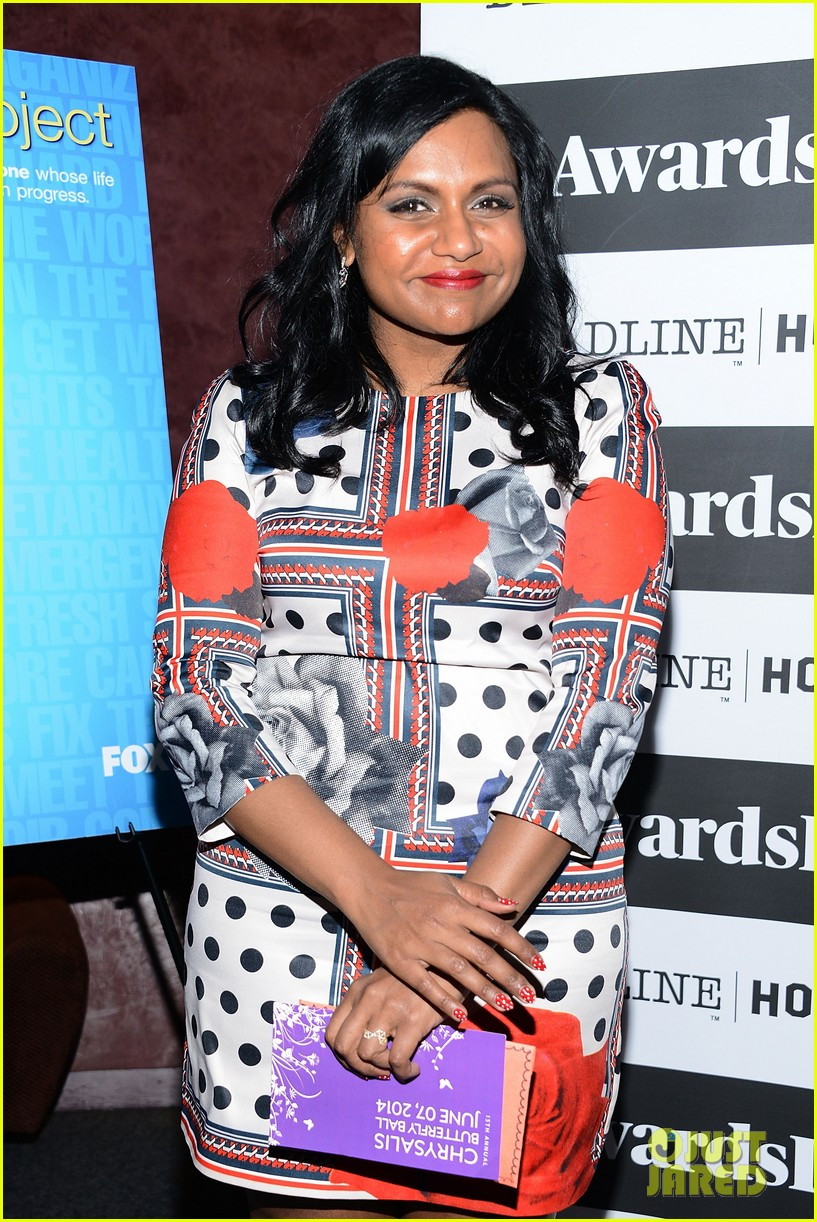 mindy kaling mindy project screening with the cast 033129610