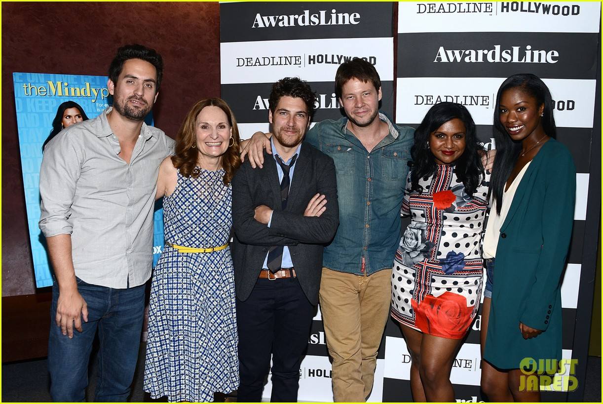 mindy kaling mindy project screening with the cast 05