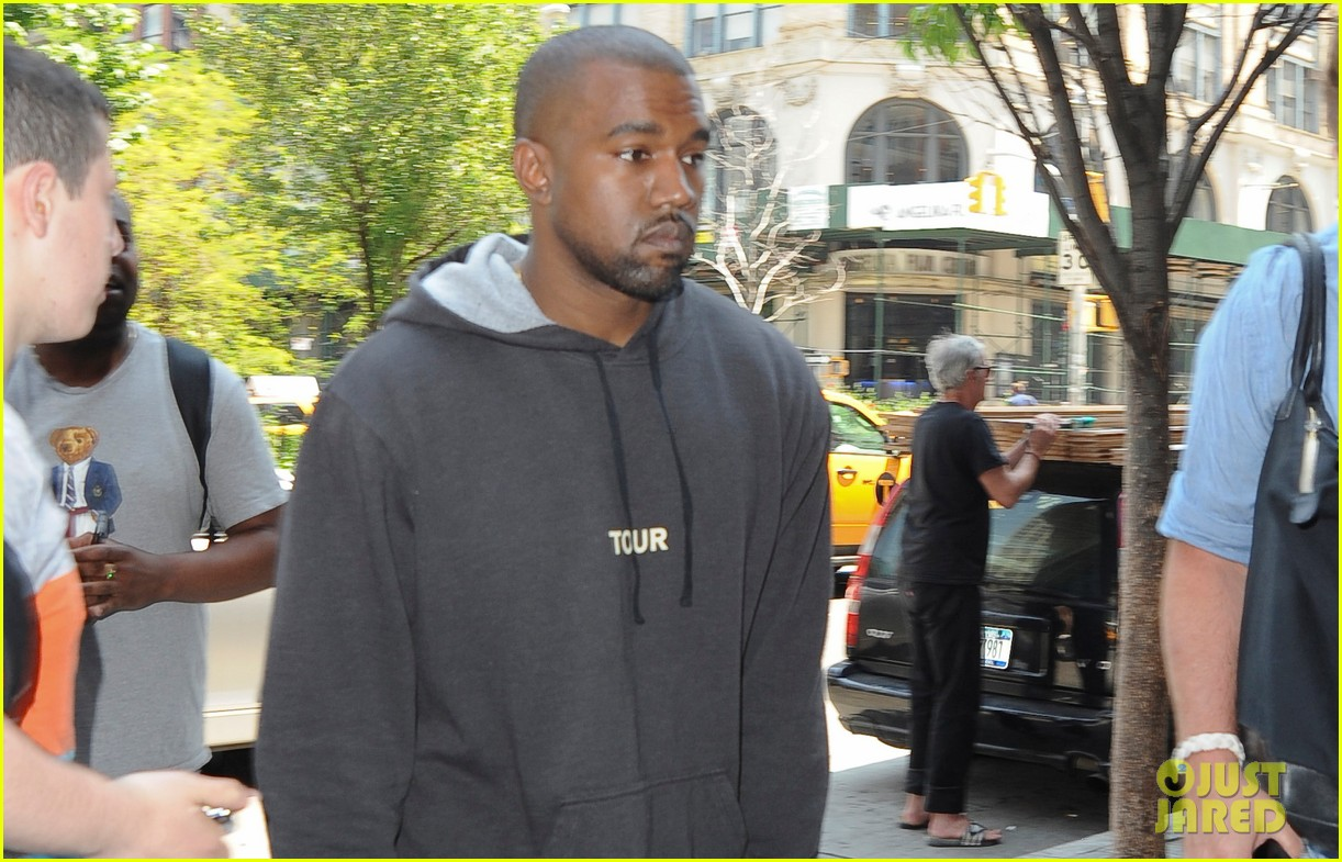 kanye west spotted in new york city after romantic honeymoon 02