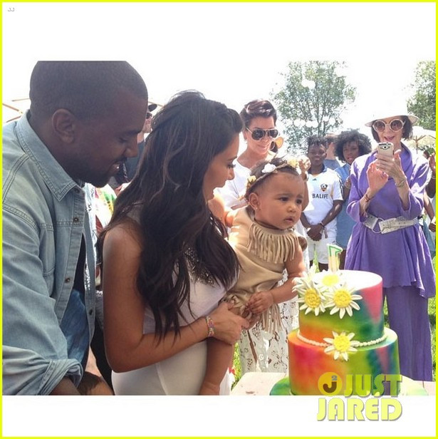kim kardashian north west birthday party 03