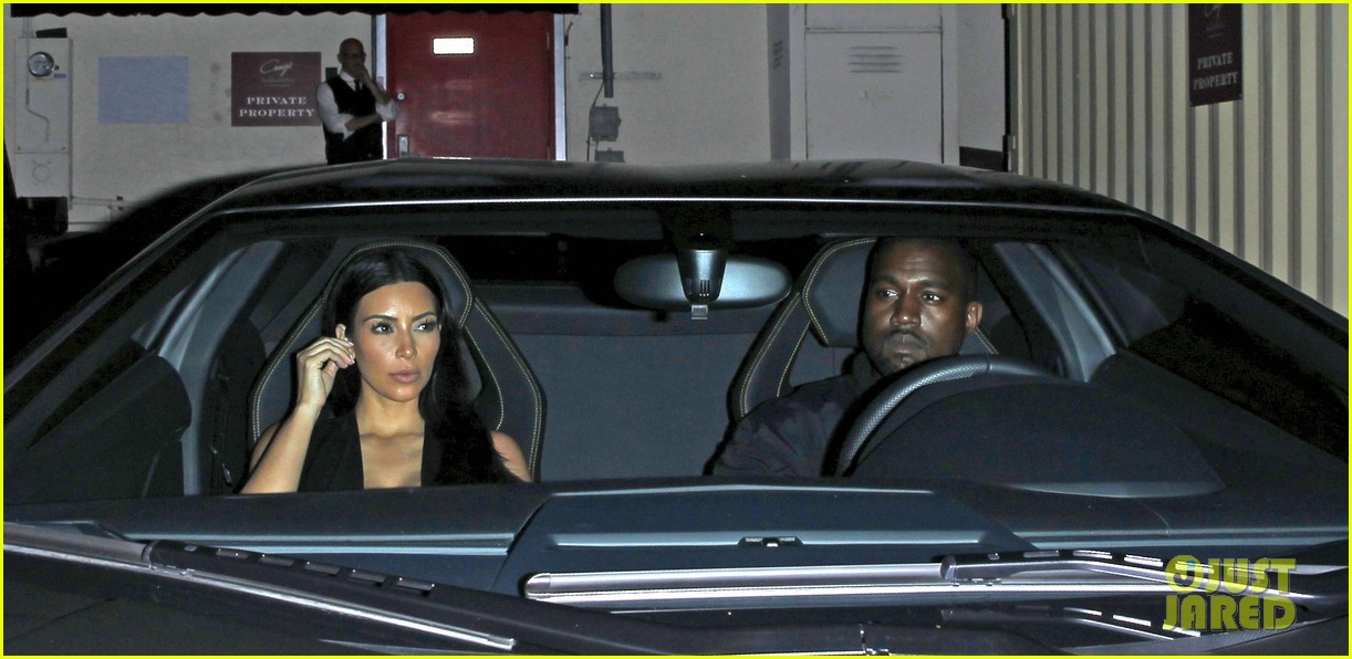 kim kardashian kanye west step out for dinner at craigs 03