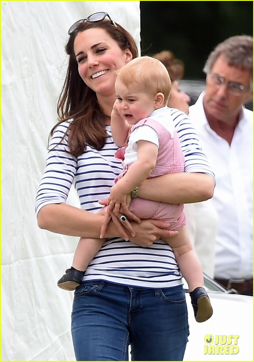 kate middleton prince george william polo match 02