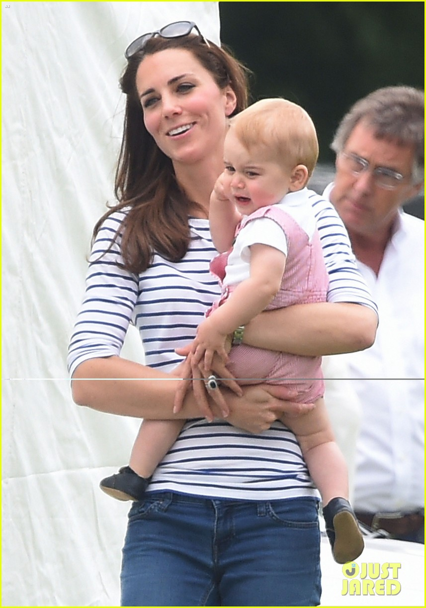 kate middleton prince george william polo match 08
