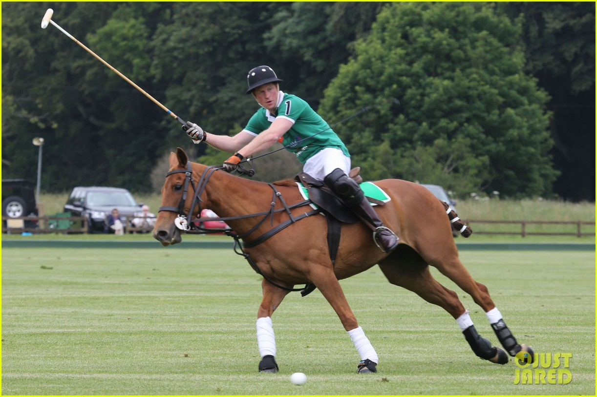 kate middleton prince george william polo match 21