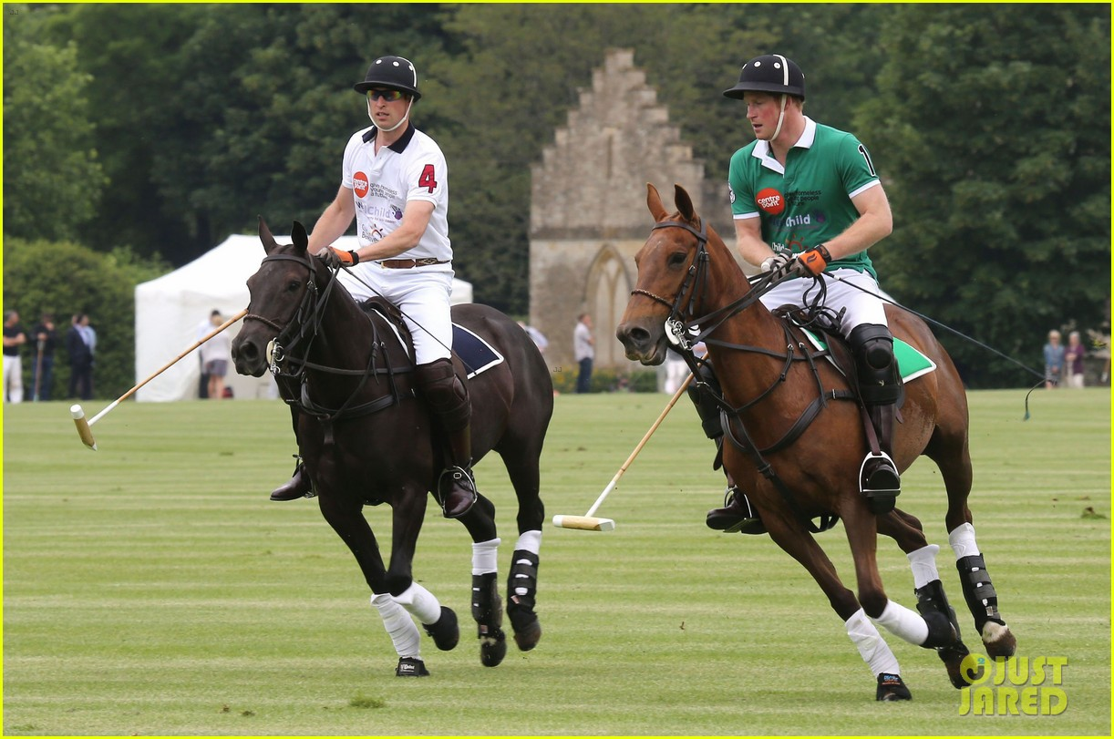 kate middleton prince george william polo match 24