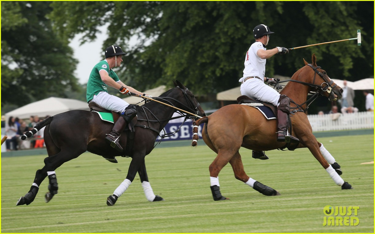 kate middleton prince george william polo match 27