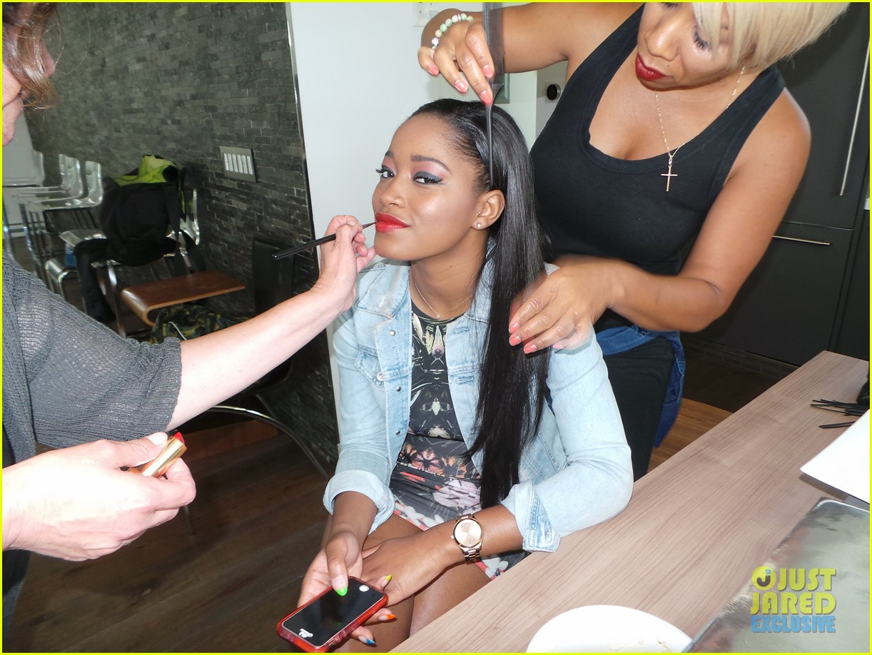 keke palmer jj spotlight behind the scenes pics 073132549
