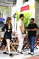 kourtney khloe kardashian double date with their men 03