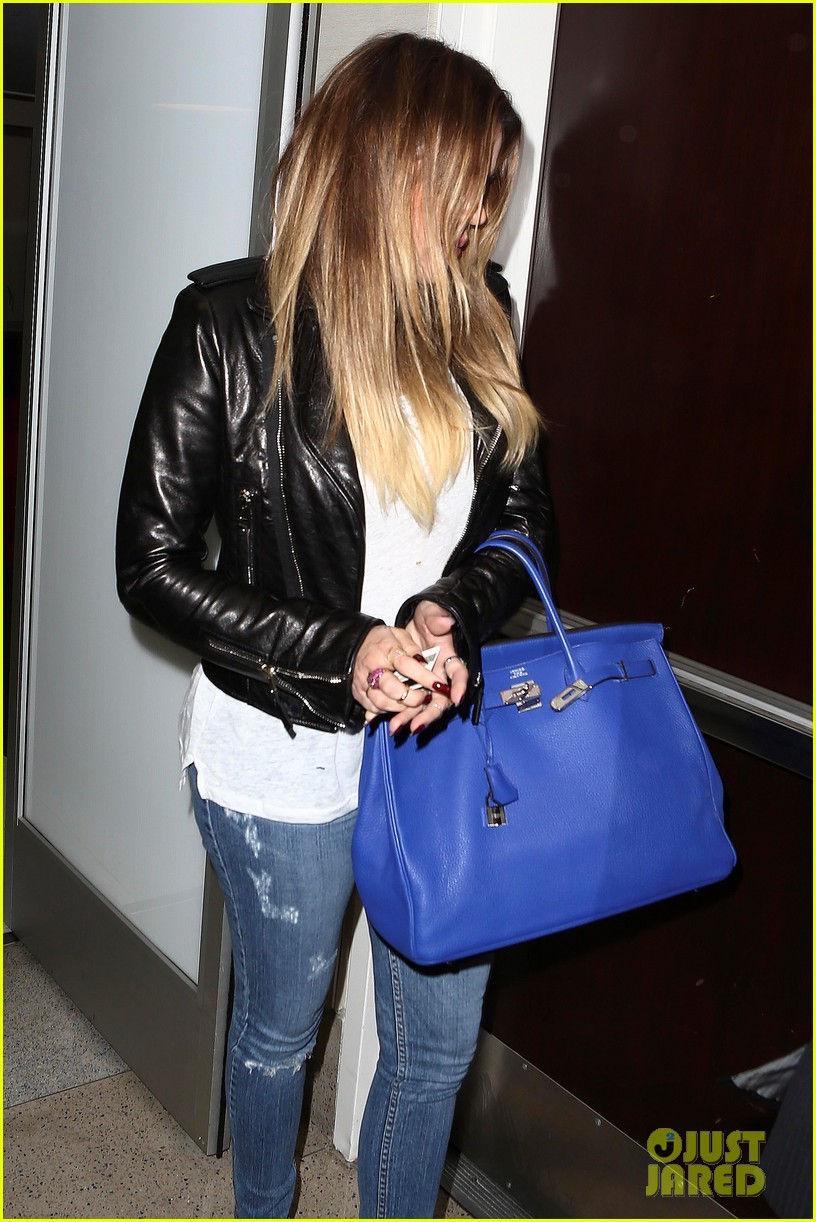 kim khloe kardashian take night flights out of lax 16