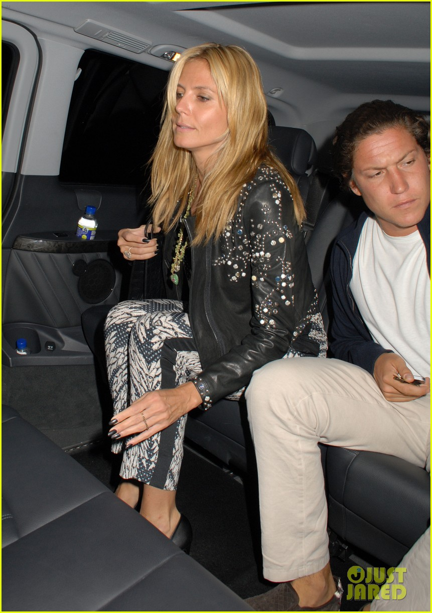 heidi klum parties at chiltern firehouse with beau vito schnabel 08