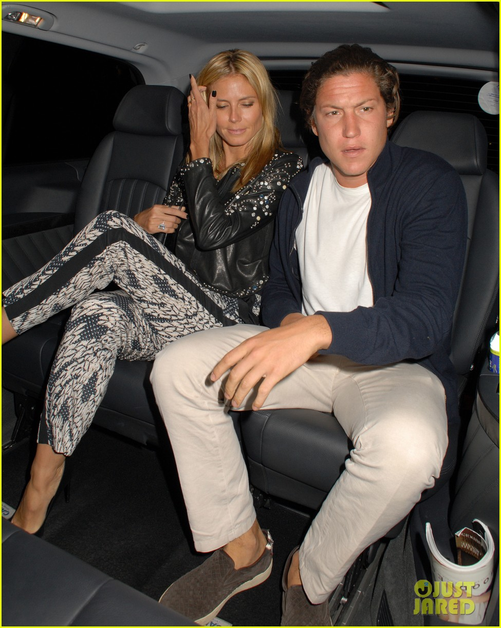 heidi klum parties at chiltern firehouse with beau vito schnabel 09