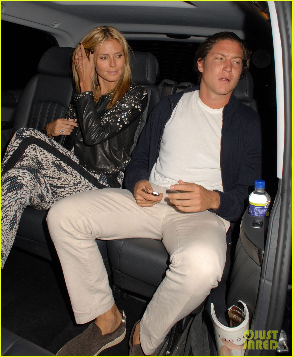 heidi klum parties at chiltern firehouse with beau vito schnabel 10
