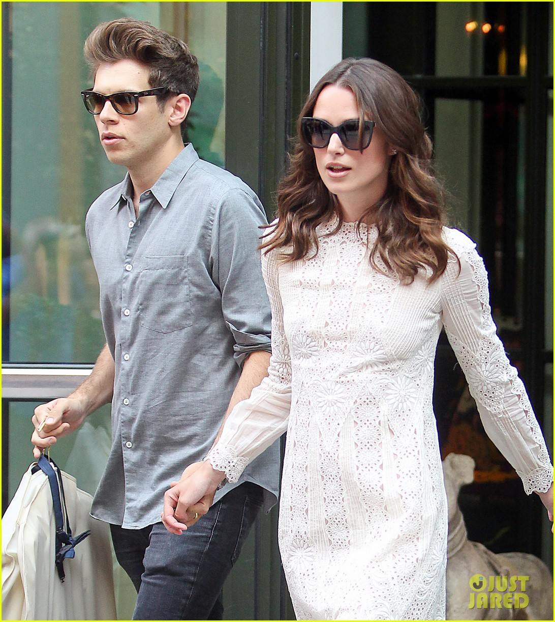 keira knightley james righton begin again premiere 21