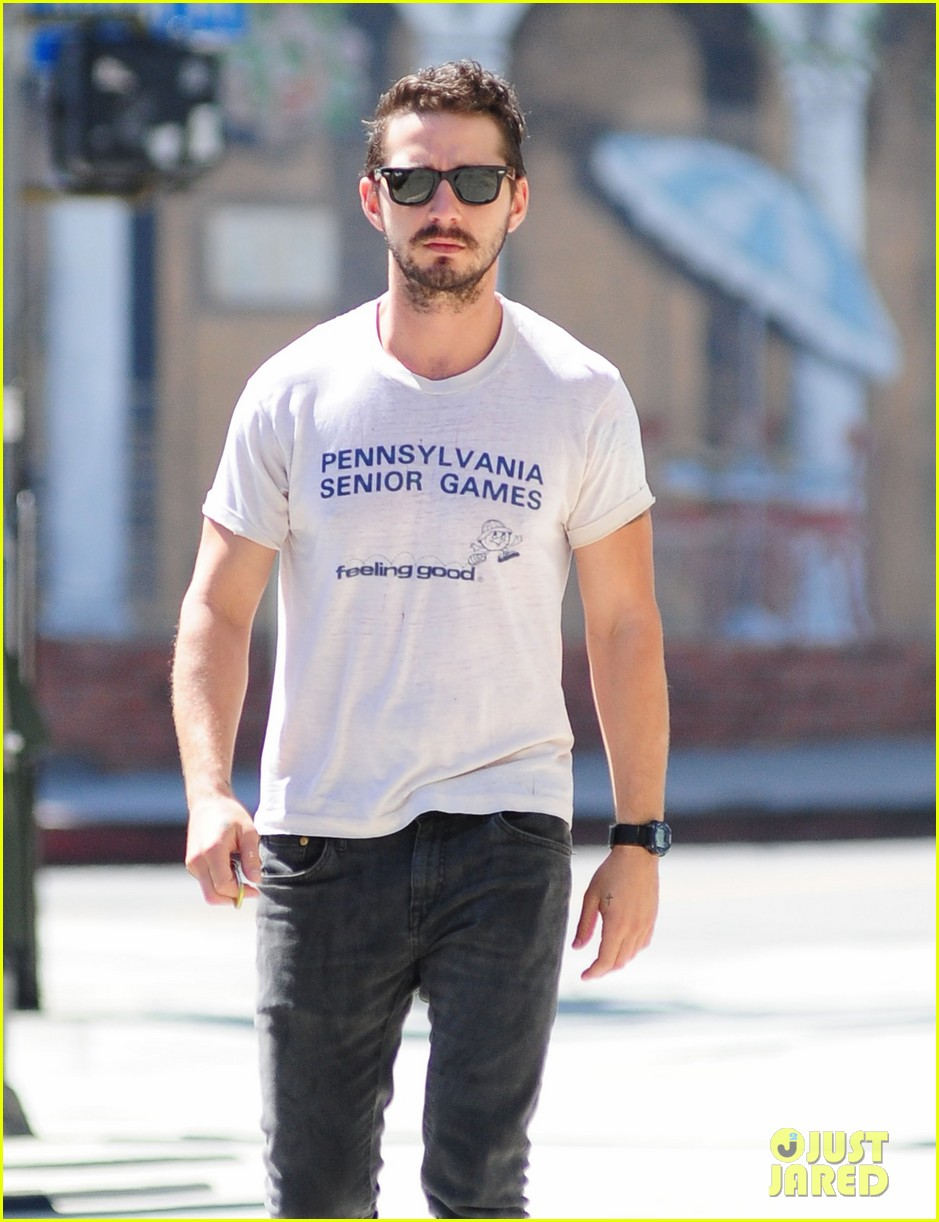 shia labeouf gym time vintage top 173140730