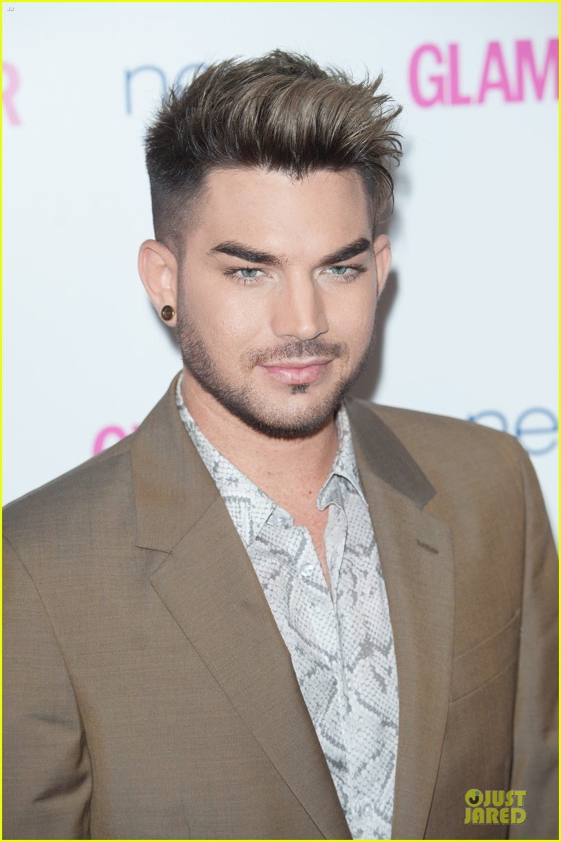 adam lambert luke evans presenters at glamour women of the year awards 02