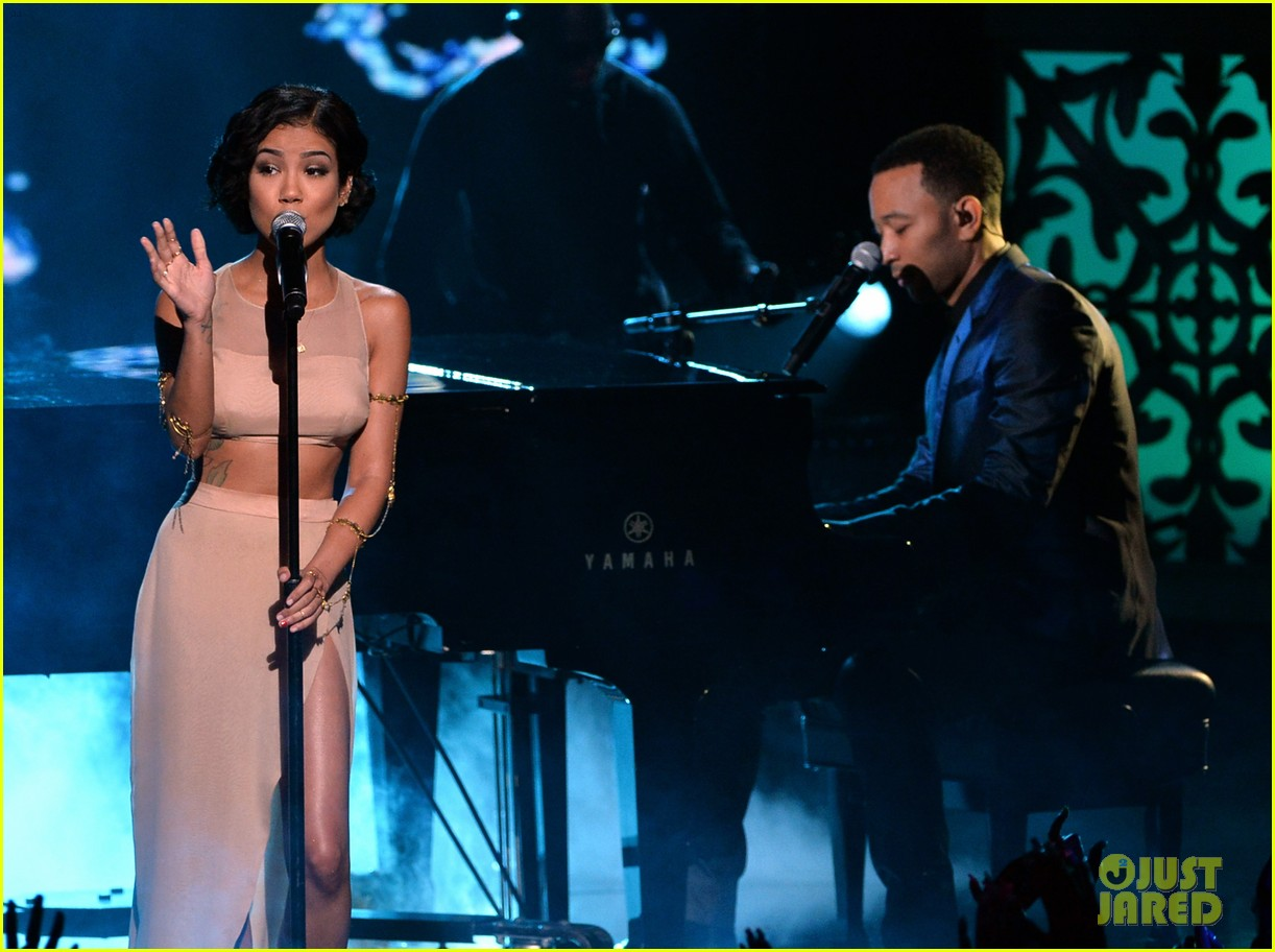 john legend jhene aiko bet awards 2014 113146334