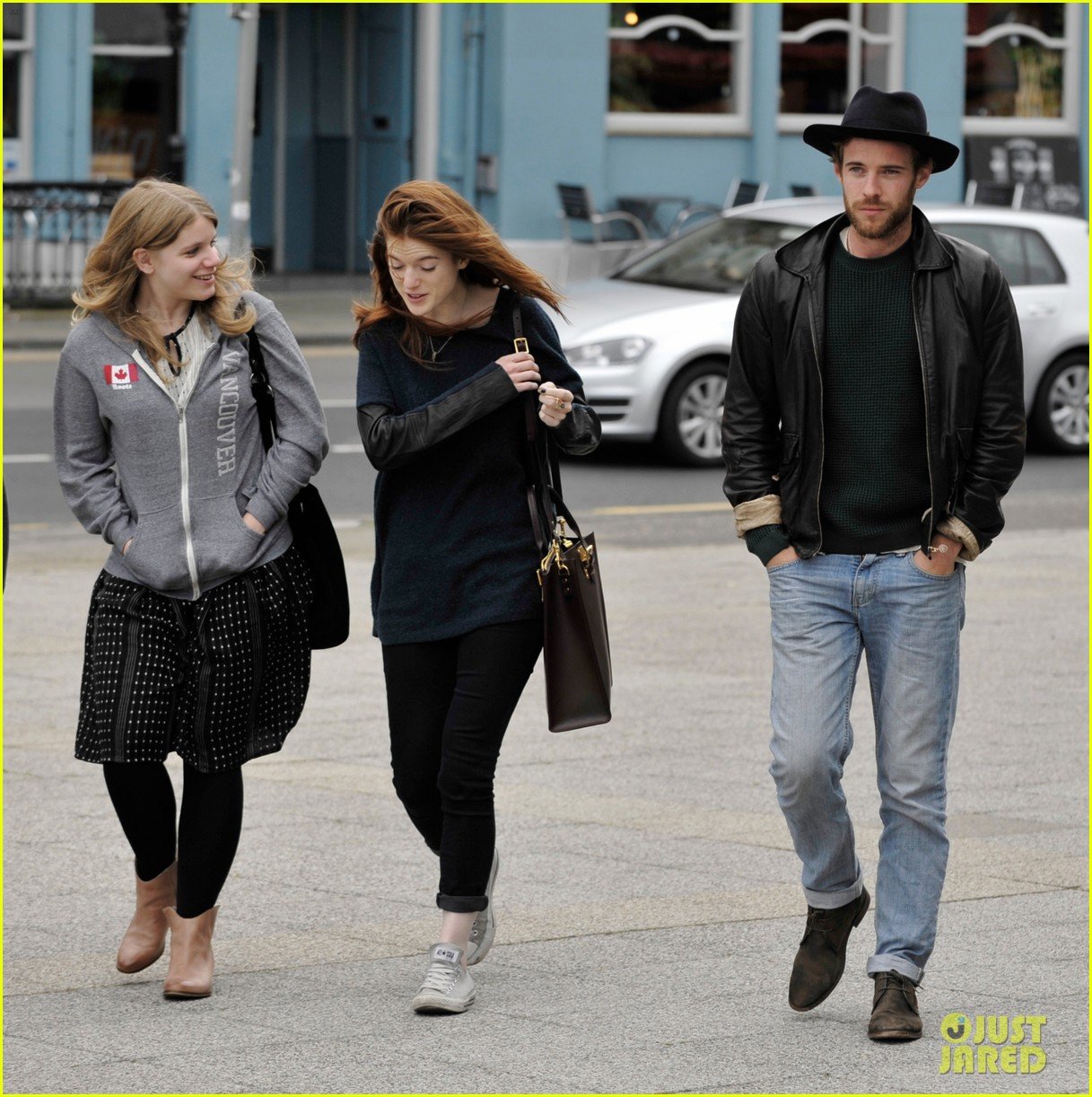 rose leslie harry treadaway honeymoon edinburgh 043145759