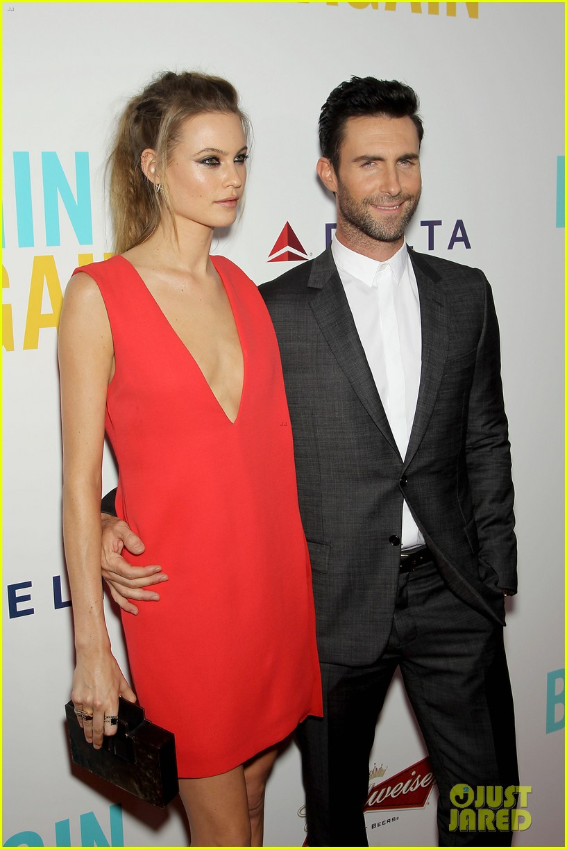 adam levine behati prinsloo begin again new york premiere 103143450