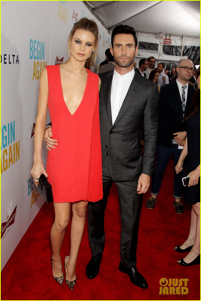 adam levine behati prinsloo begin again new york premiere 123143452