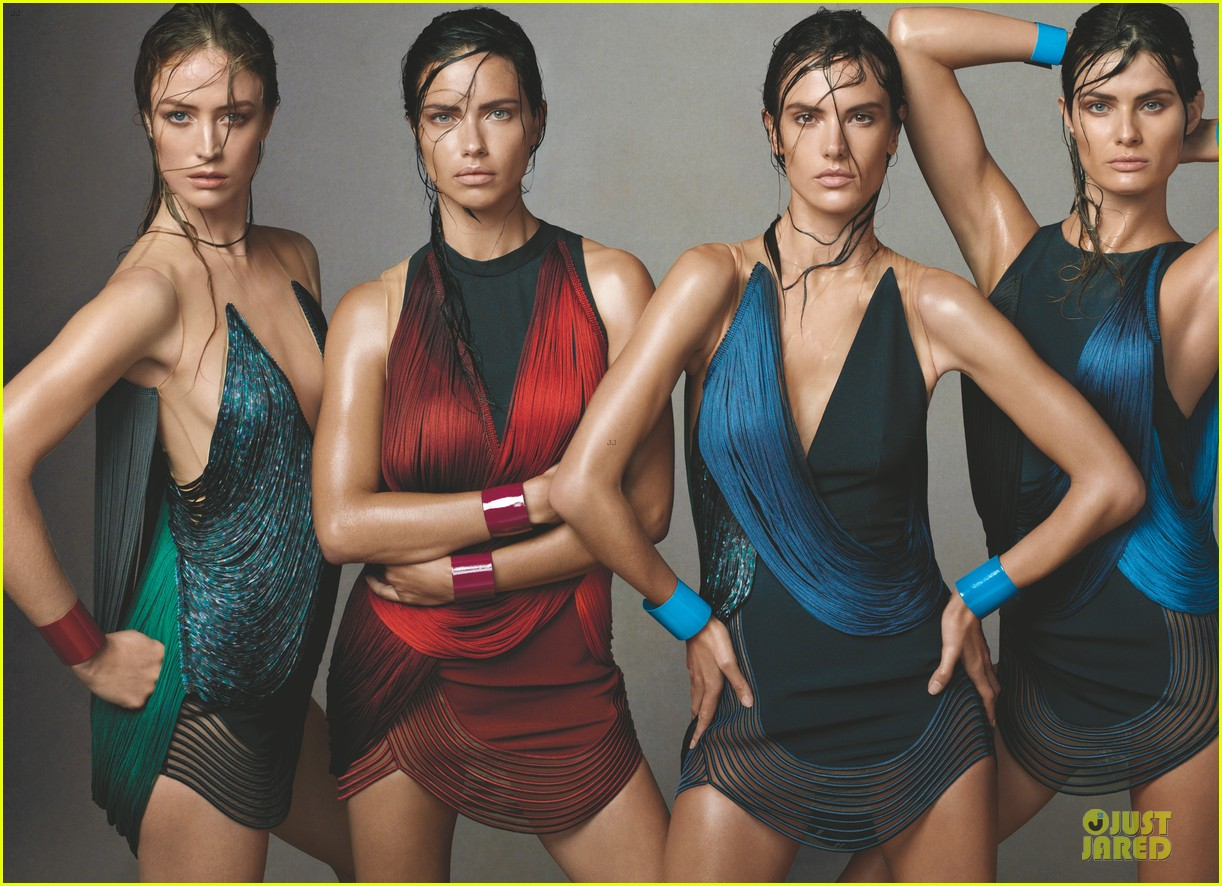 adriana lima alessandra ambrosio wet hair for vogue feature 01