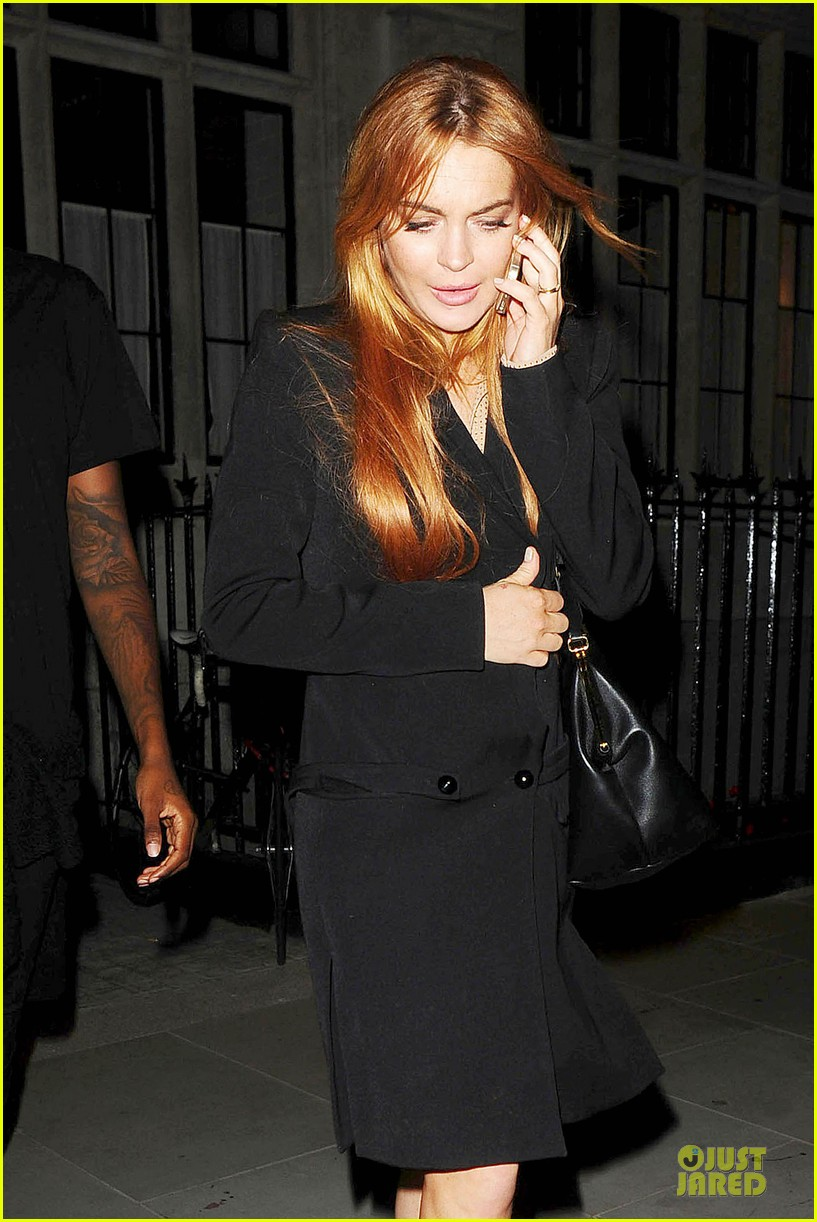 lindsay lohan thrilled to be in part of speed the plow 083145476