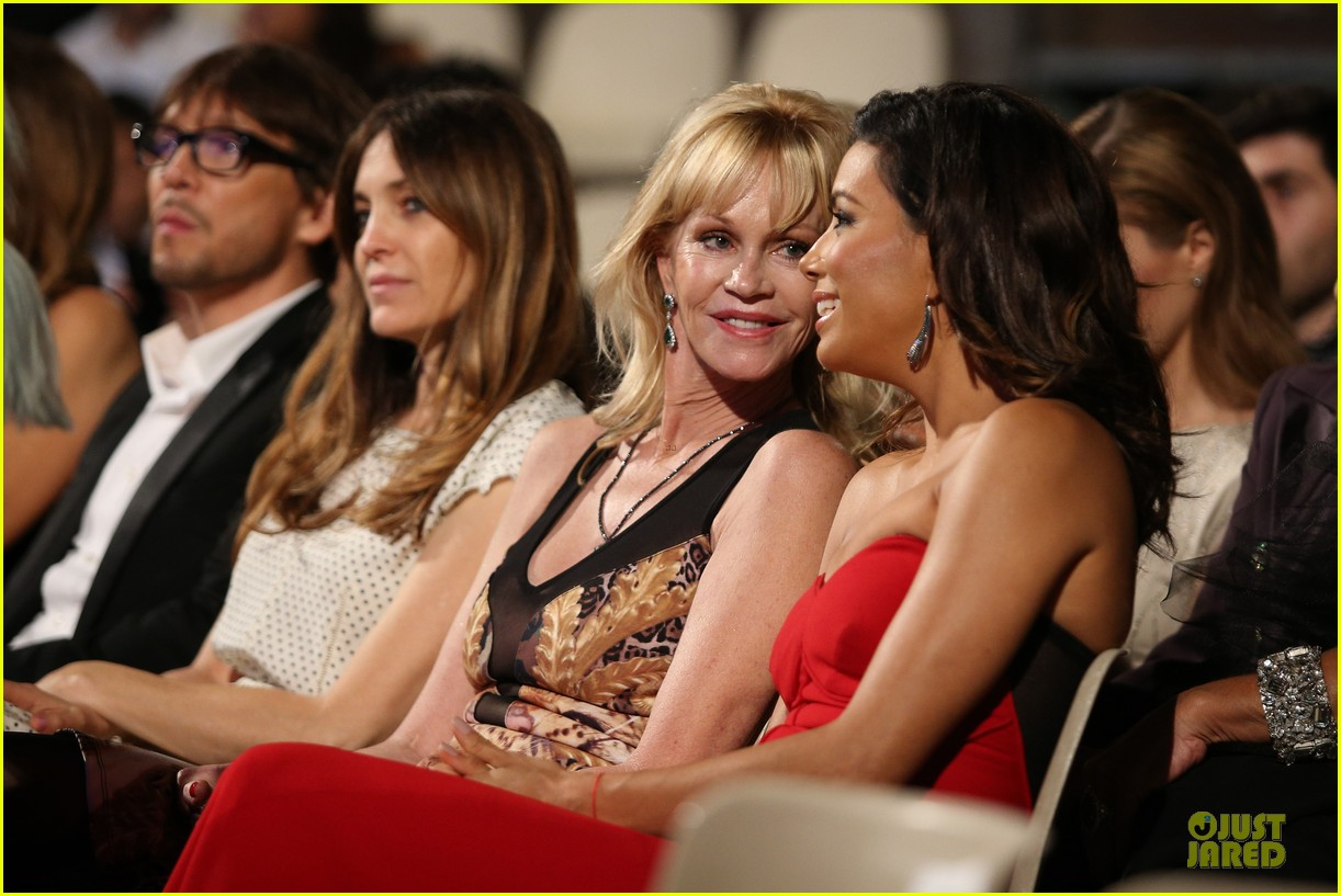 eva longoria melanie griffith at taormina film fest 293137828