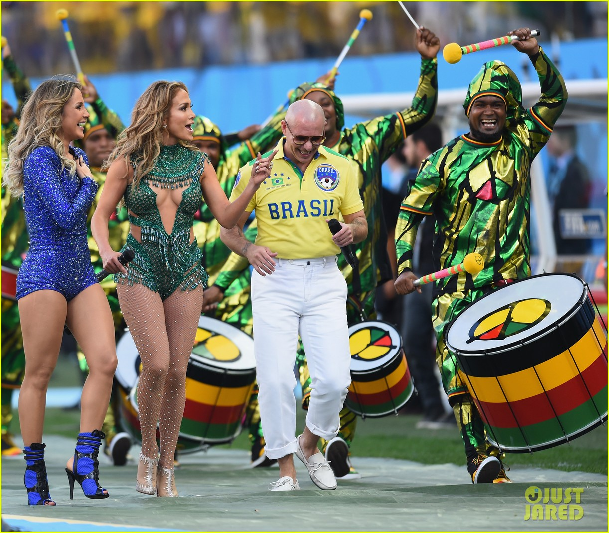 jennifer lopez performs at world cup 2014 opening ceremony with pitbull claudia leitte 093134067