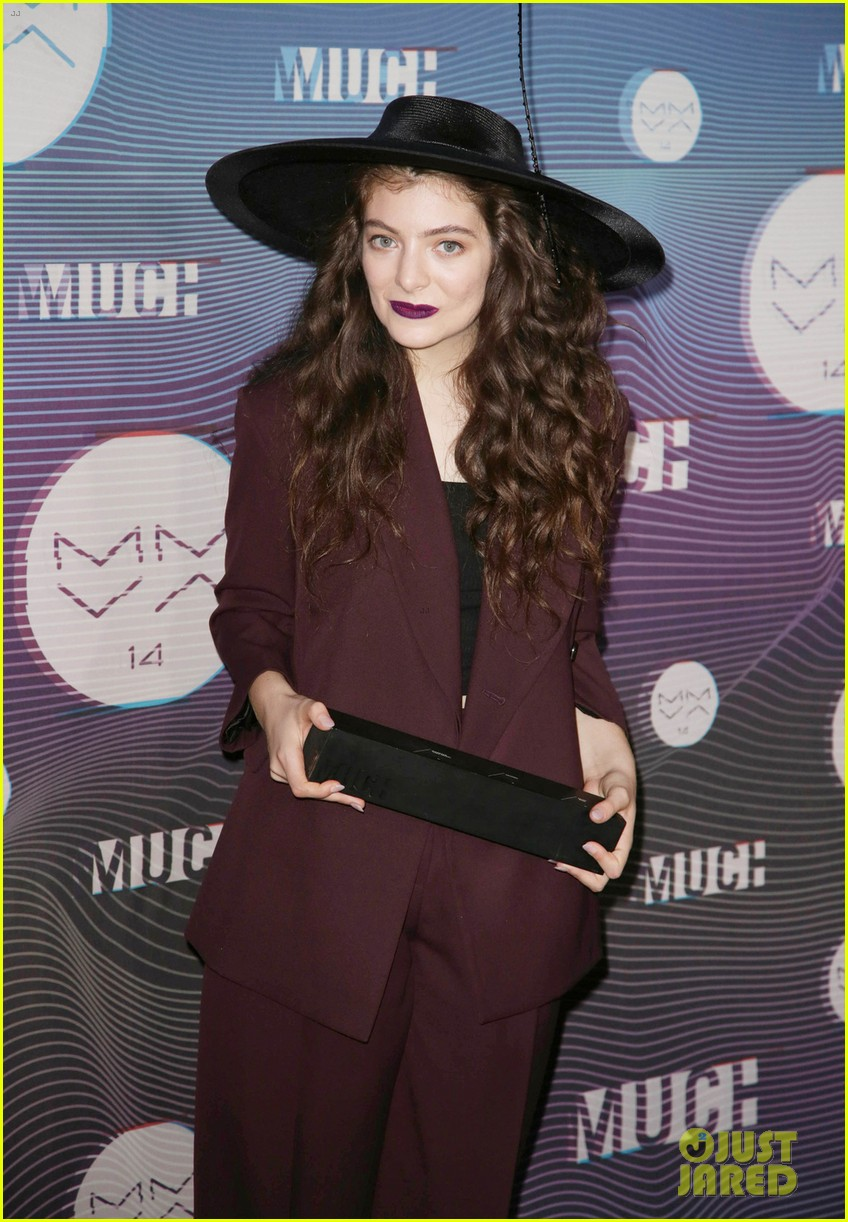 lorde muchmusic video awards 2014 05
