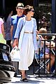 maggie gyllenhaal shows some skin at lunch 03