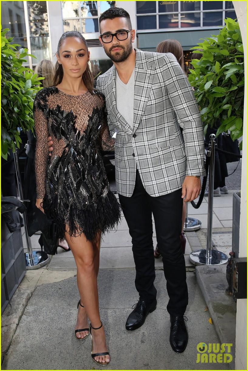 jesse metcalfe cara santana fashionable duo for london mens fashion week 183137888