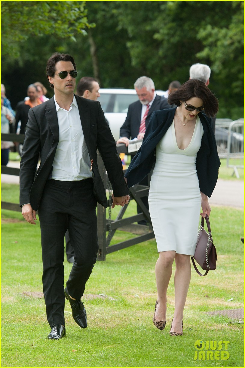 michelle dockery boyfriend john dineen cartier world cup 013135856