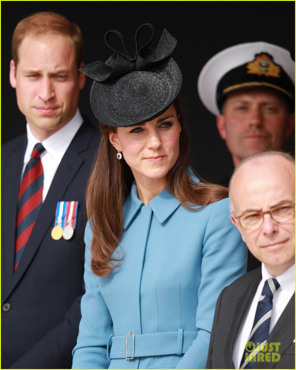 kate middleton prince william pay respects at d day 70th anniversary 19