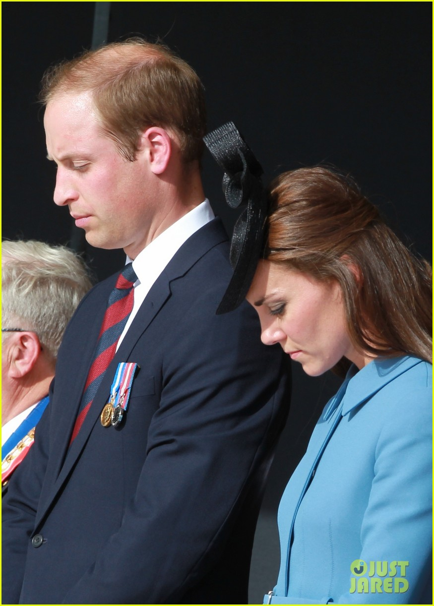 kate middleton prince william pay respects at d day 70th anniversary 28
