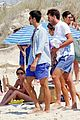 novak djokovic continues his bachelor party beach vacation 10