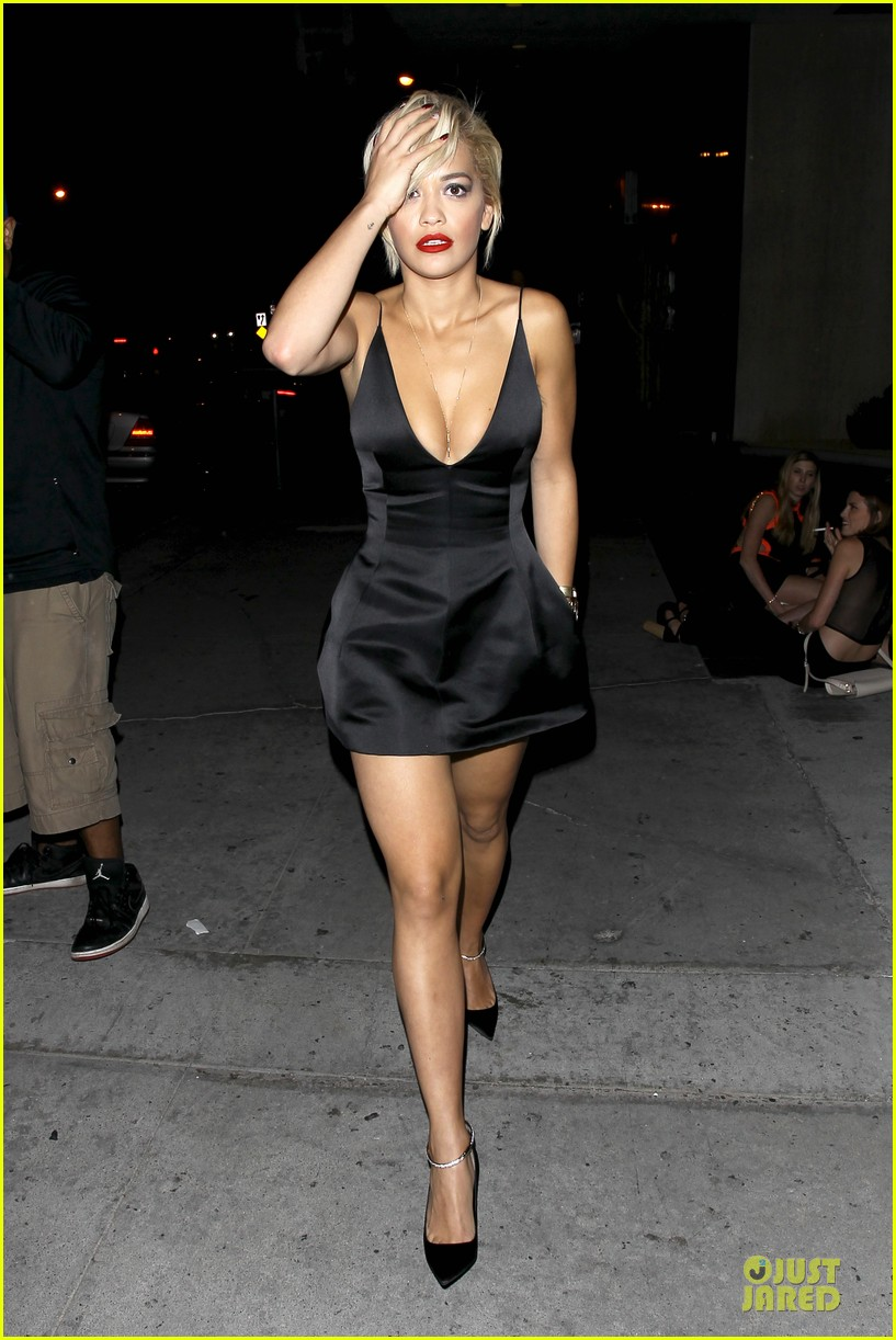 rita ora shows cleavage after calvin harris split 06