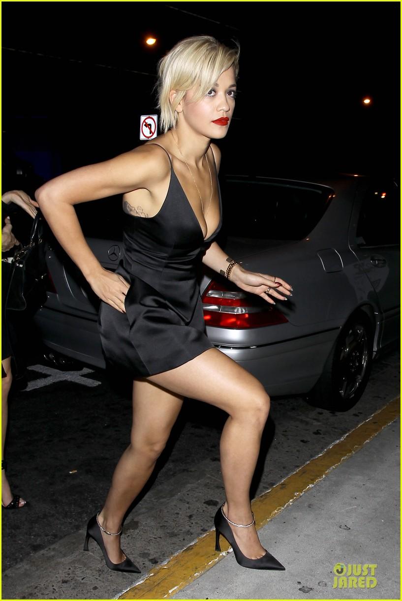 Rita Ora Cleavage Nude Photos 74