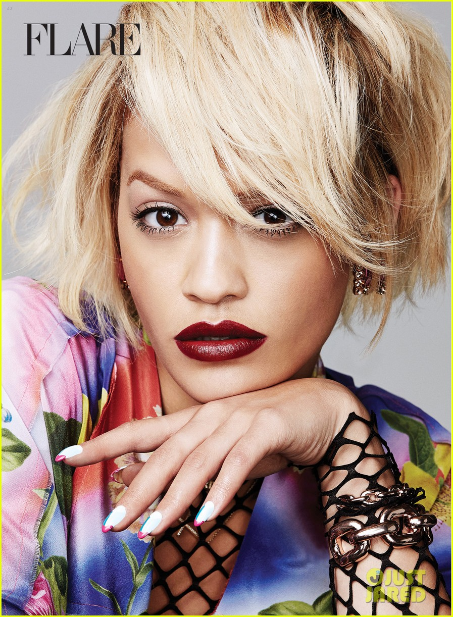 rita ora flare august 2014 issue 083142044